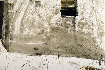 Andrew Wyeth's painting Benjamin's House